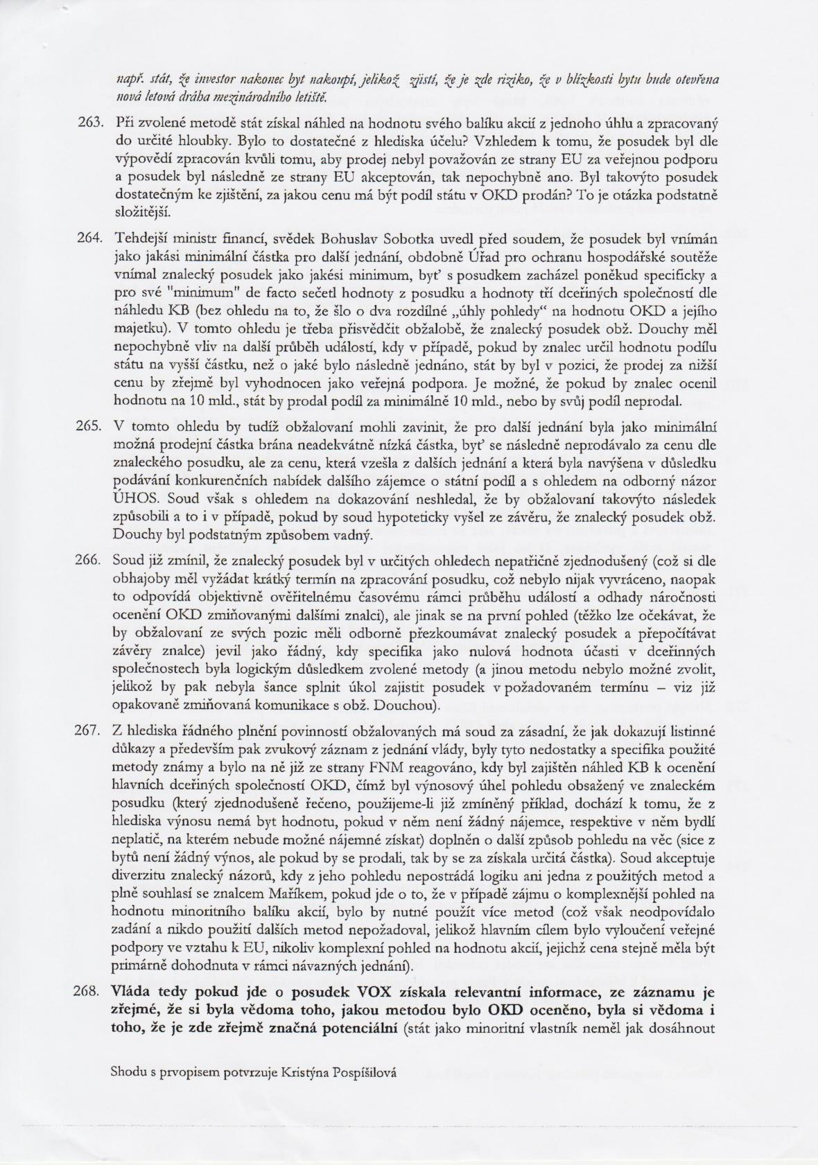 Rozsudek v kauze OKD – strana 35
