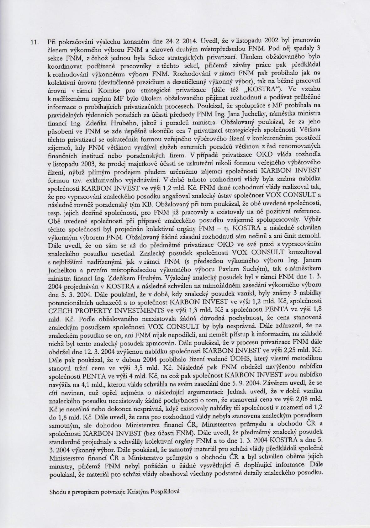 Rozsudek v kauze OKD – strana 6