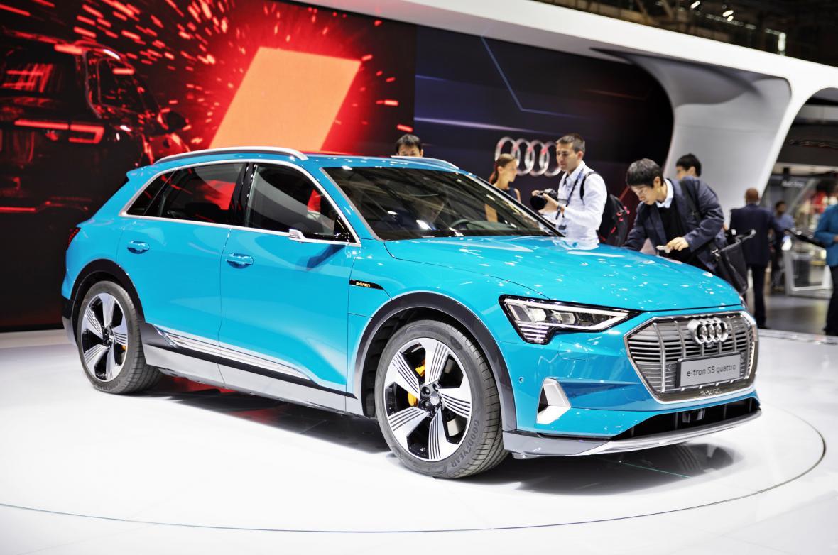 Studie vozu Audi e-tron 55 quattro