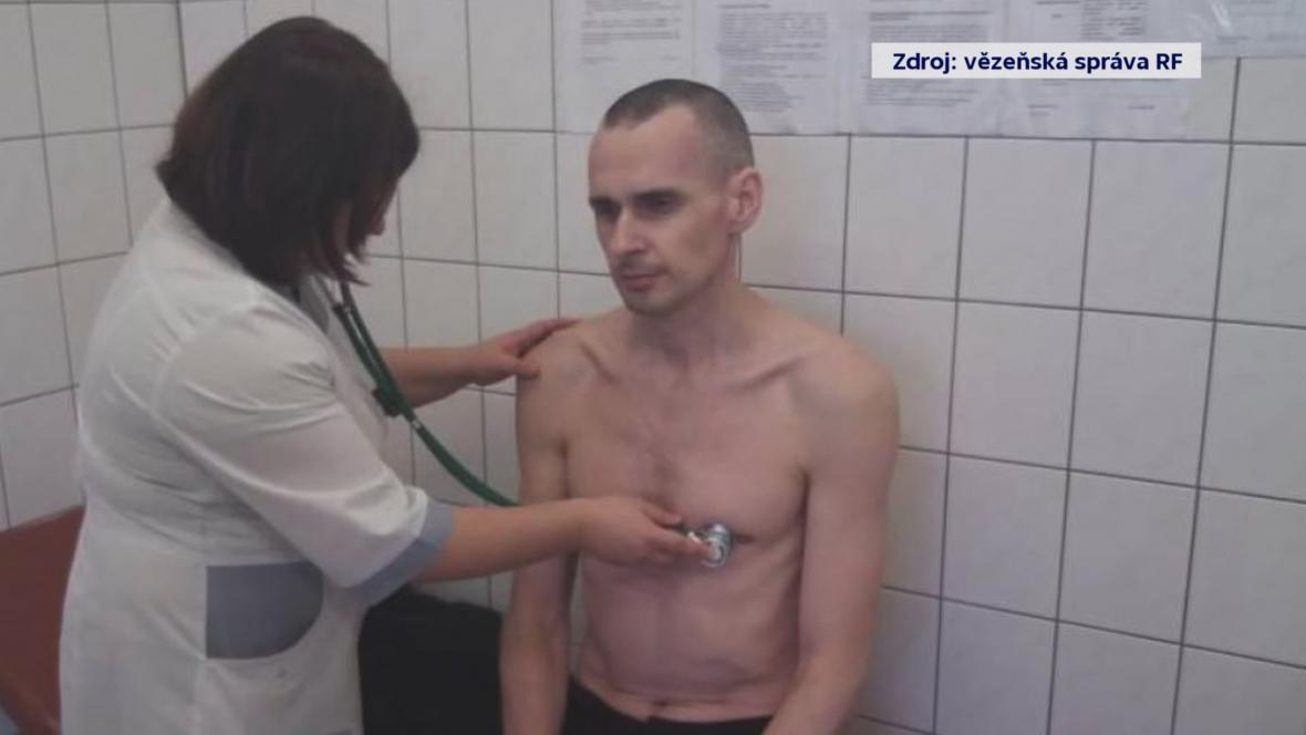 Oleh Sencov v ruském vězení