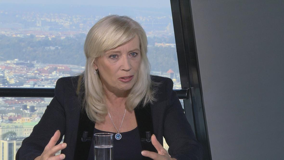 Socioložka a bývalá slovenská premiérka Iveta Radičová