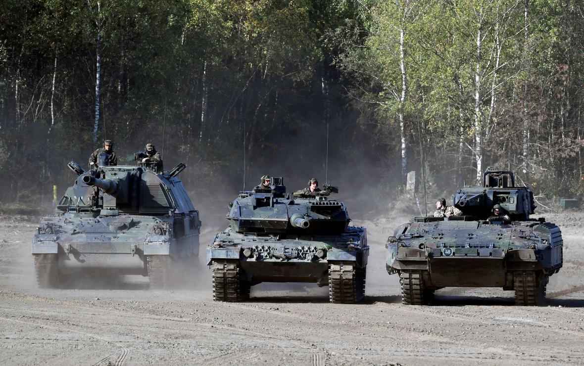 Německá armáda v akci