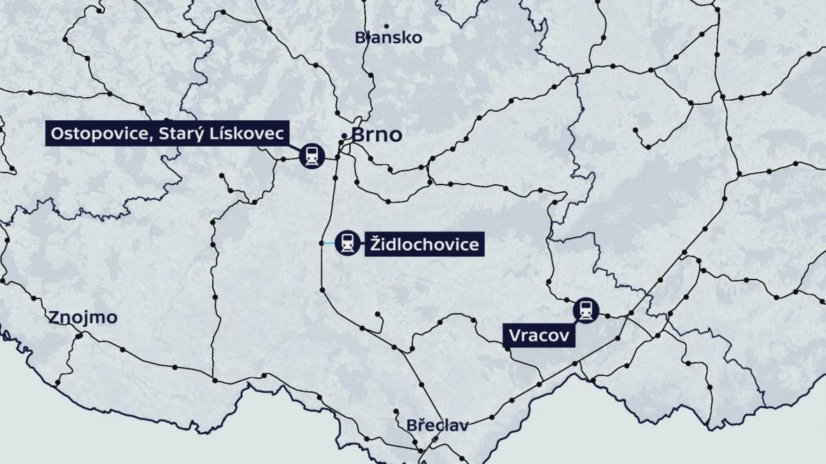 Plánované železniční zastávky