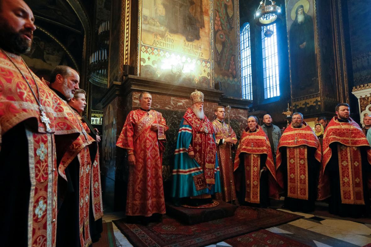 Ukrajinská ortodoxní církev