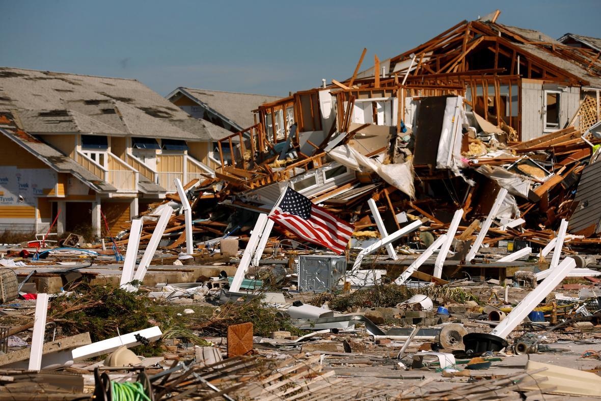 Následky hurikánu Michael