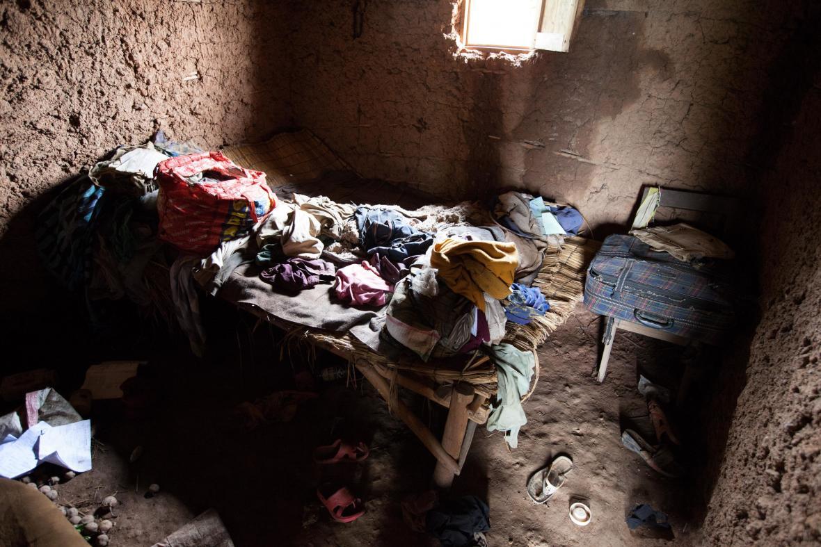 Ložnice Butoyiů