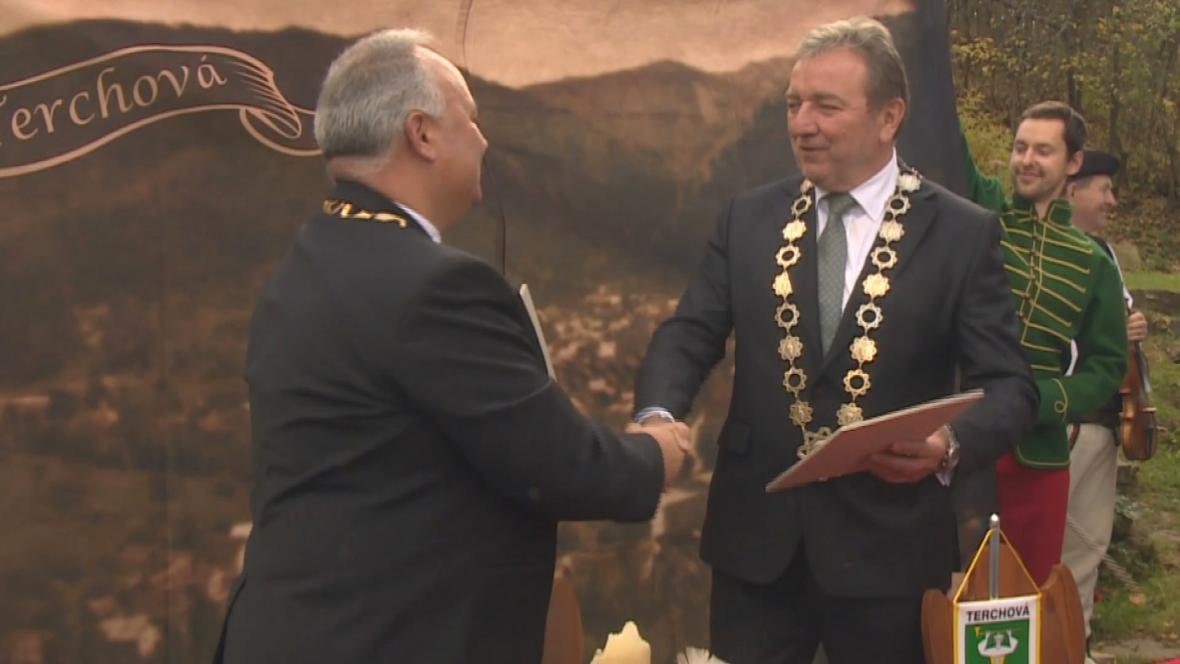 Představtelé Liptovského Mikuláše a Terchové uzavřeli dohodu o spolupráci