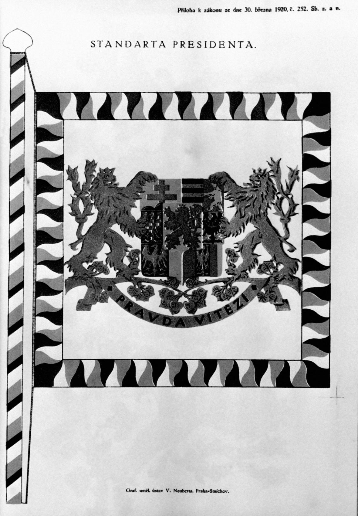 Standarta prezidenta Československé republiky