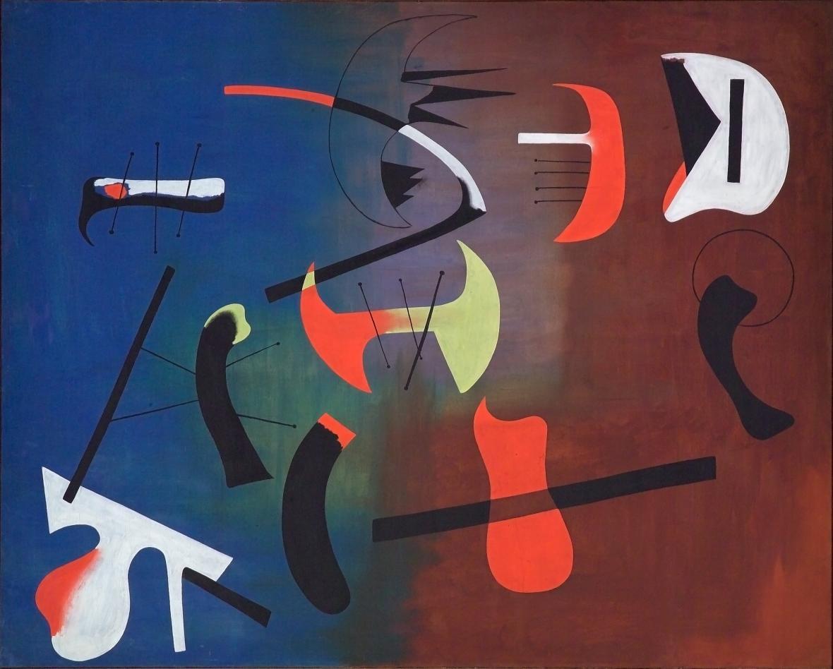Joan Miró, Kompozice, 1933