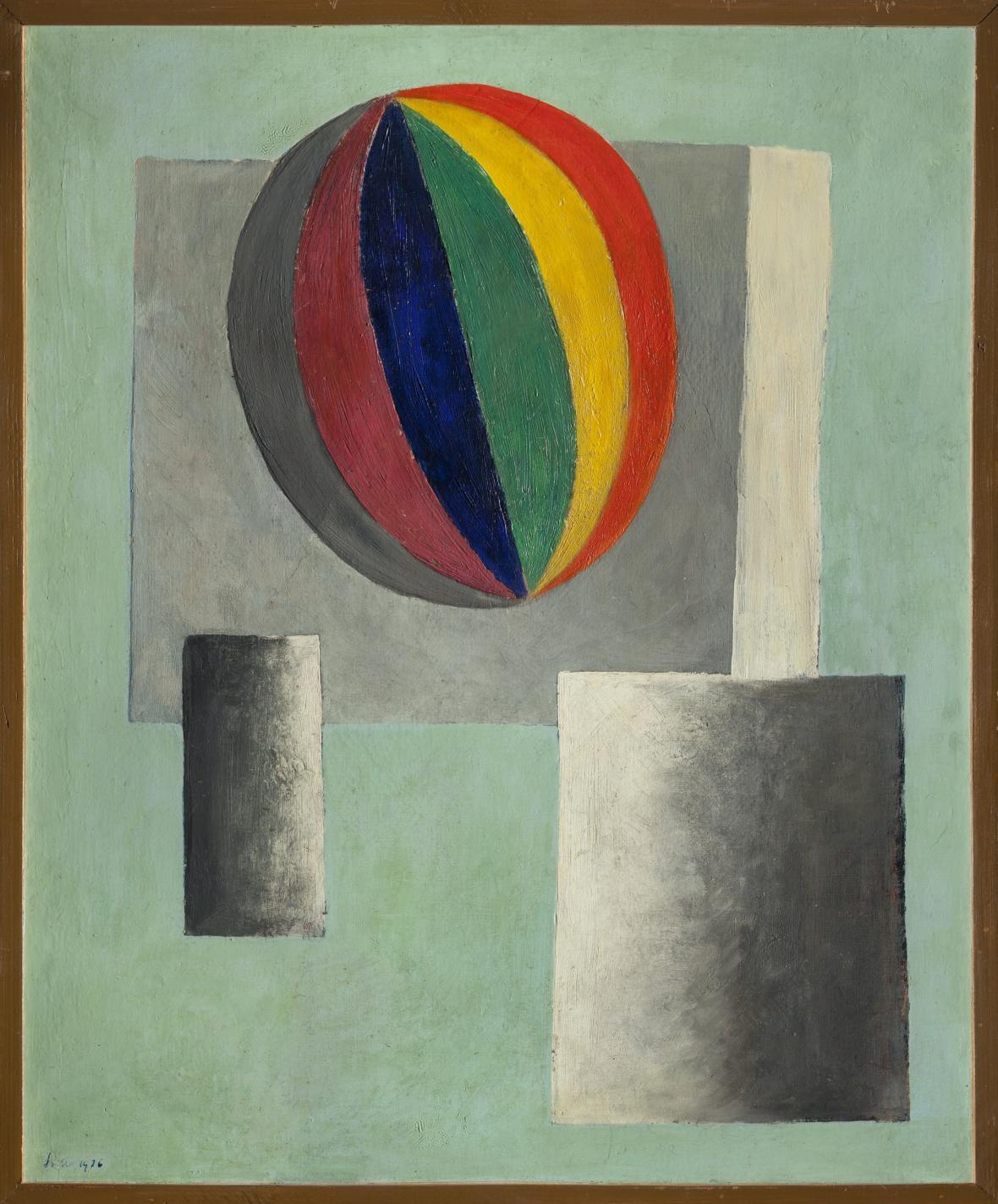Josef Šíma, Balon, 1926