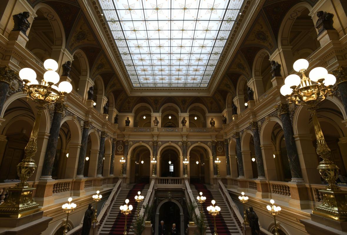 Národní muzeum, interiér po rekonstrukci