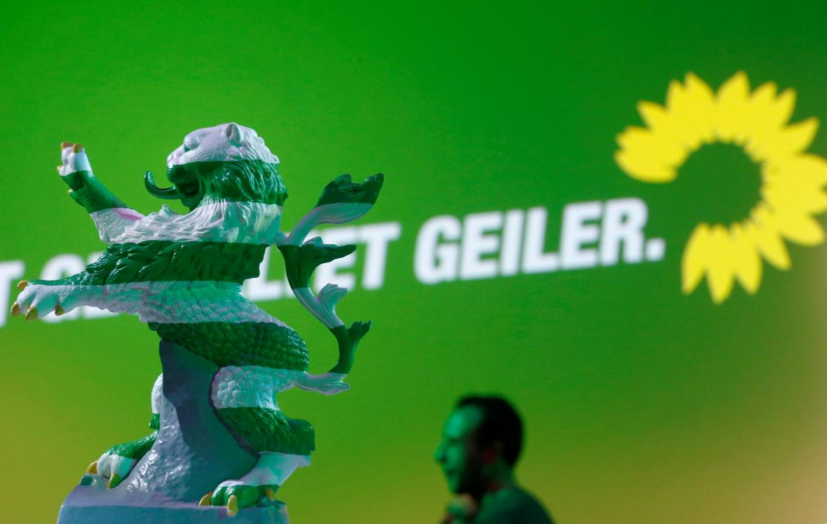 Zelení mohou v Hesensku zaznamenat historický výsledek
