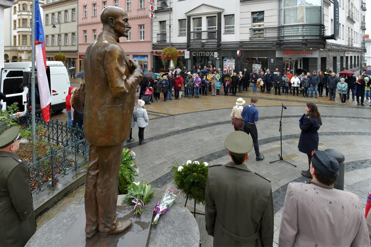 100. výročí založení Československa v Karlových varech