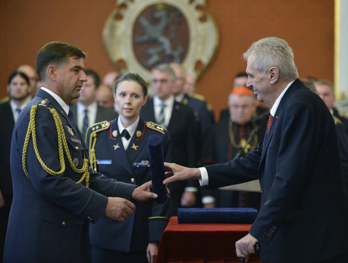Jmenování Petra Lančiho brigádním generálem
