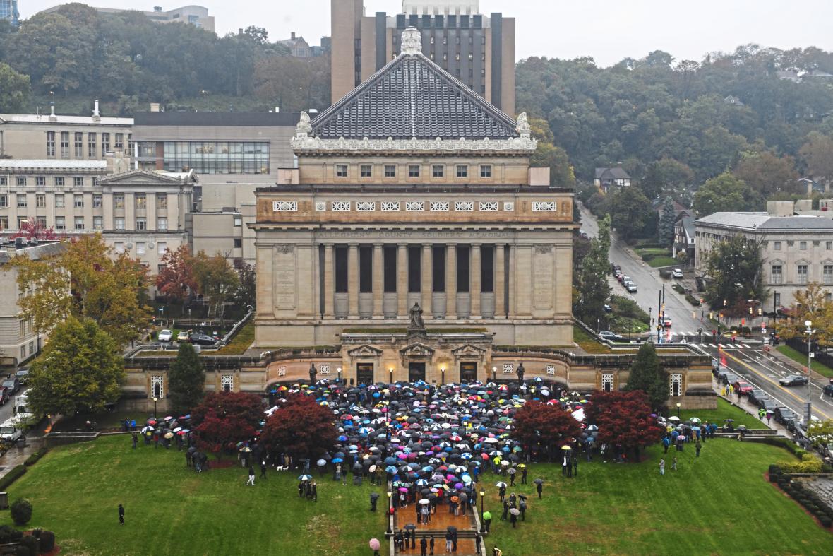 Pieta za oběti střelby v Pittsburghu