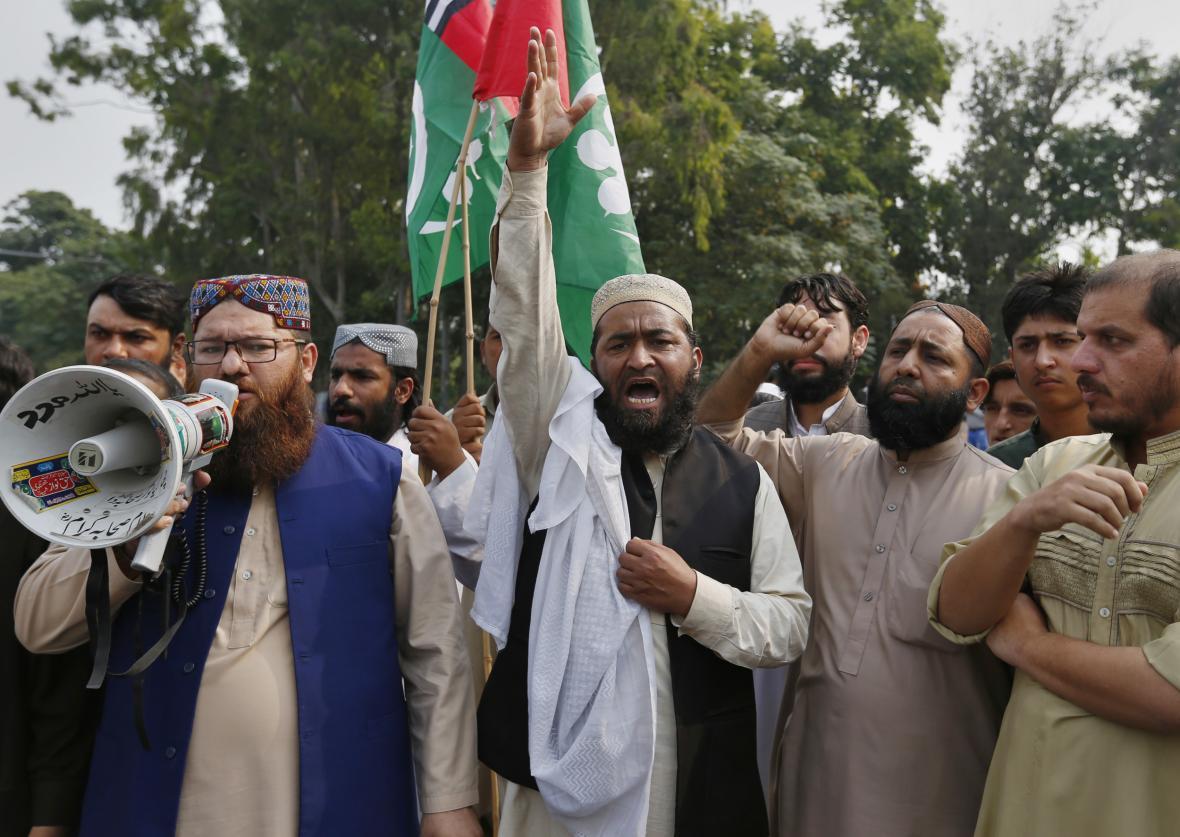 Protest kvůli osvobození křesťanky v Pákistánu