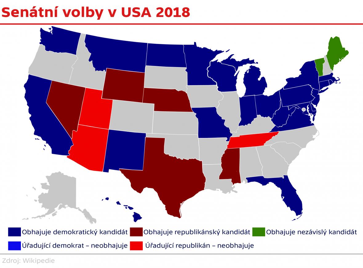 Senátní volby v USA
