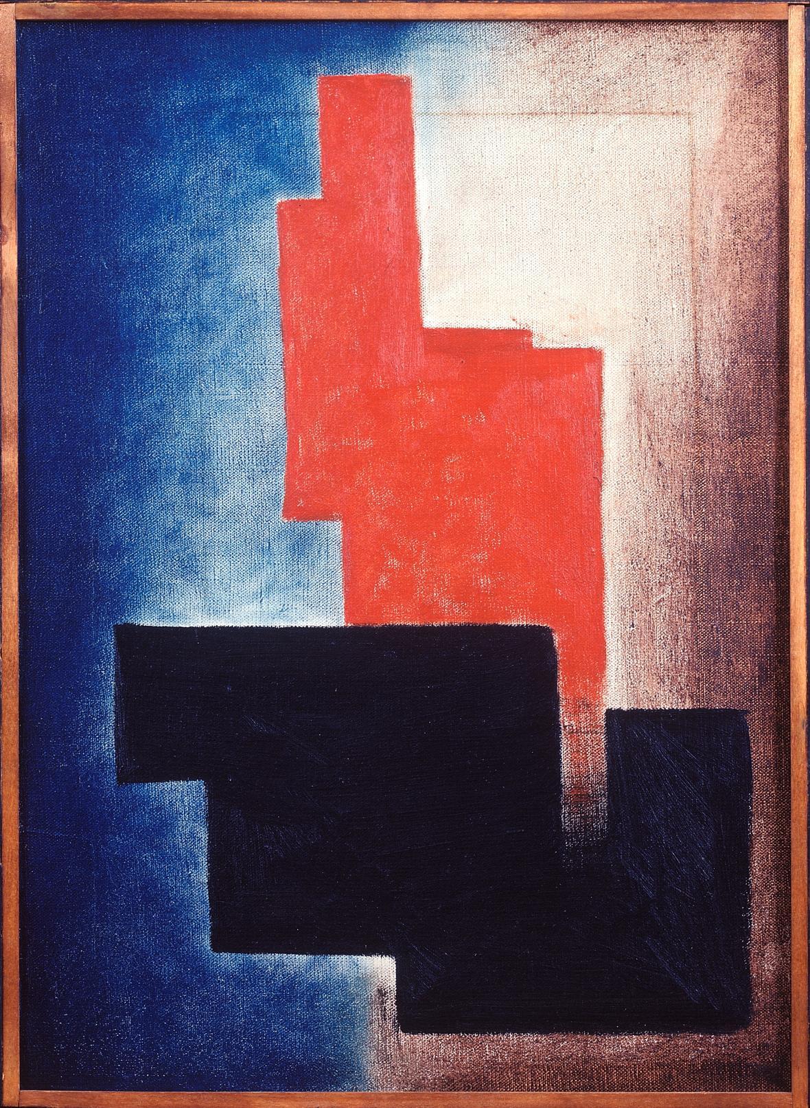 Josef Šíma / Kompozice, 1925