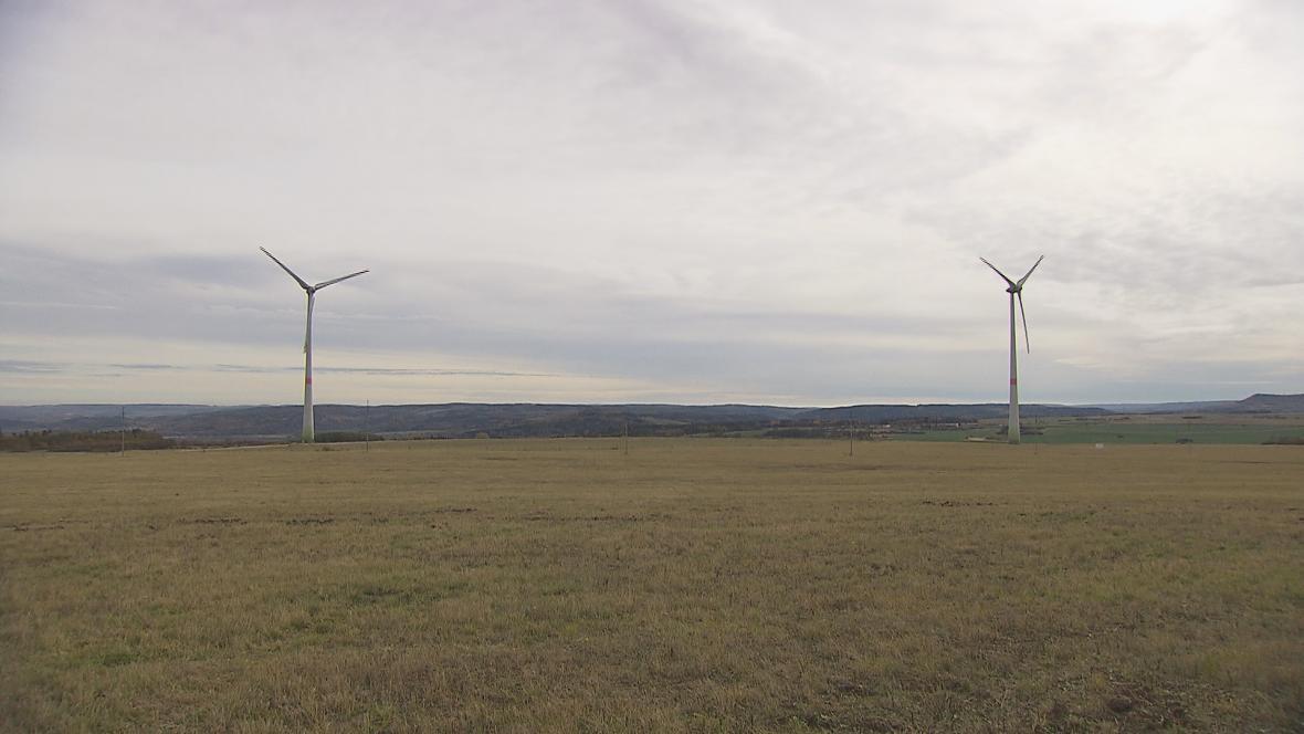 Větrné elektrárny Vrbice