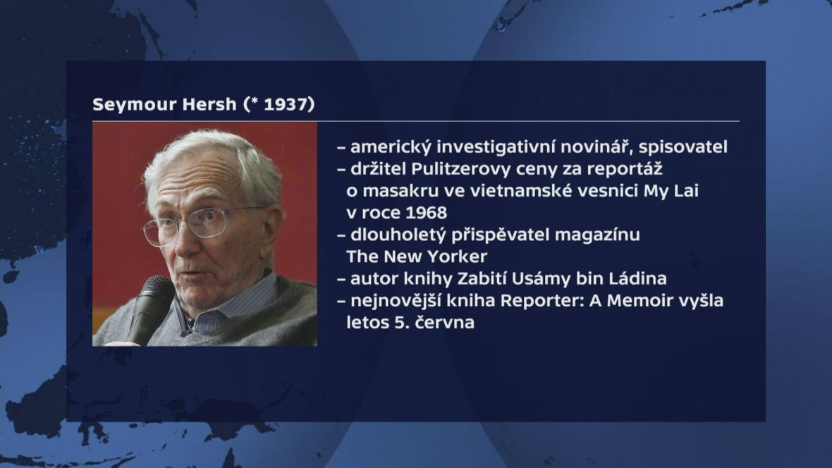 Vizitka Seymoura Hershe