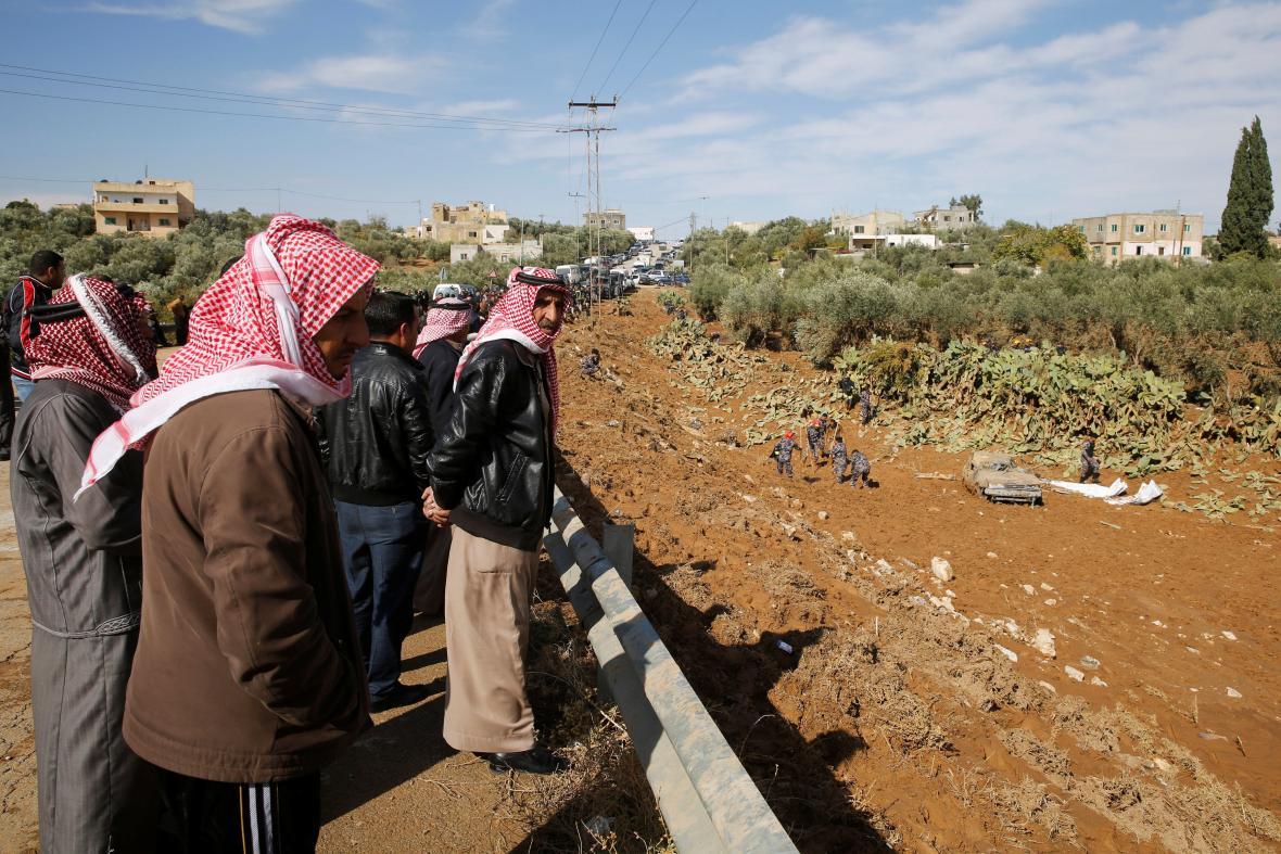 Jordánsko pustošily bleskové záplavy