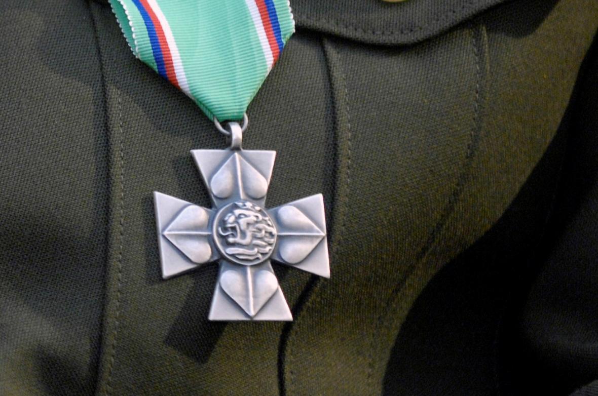 Záslužný kříž ministra obrany