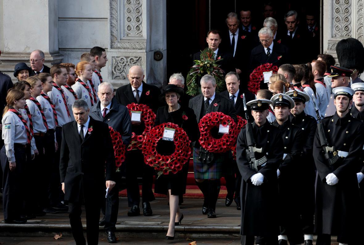 Velká Británie oslavila výročí sto let od konce první světové války