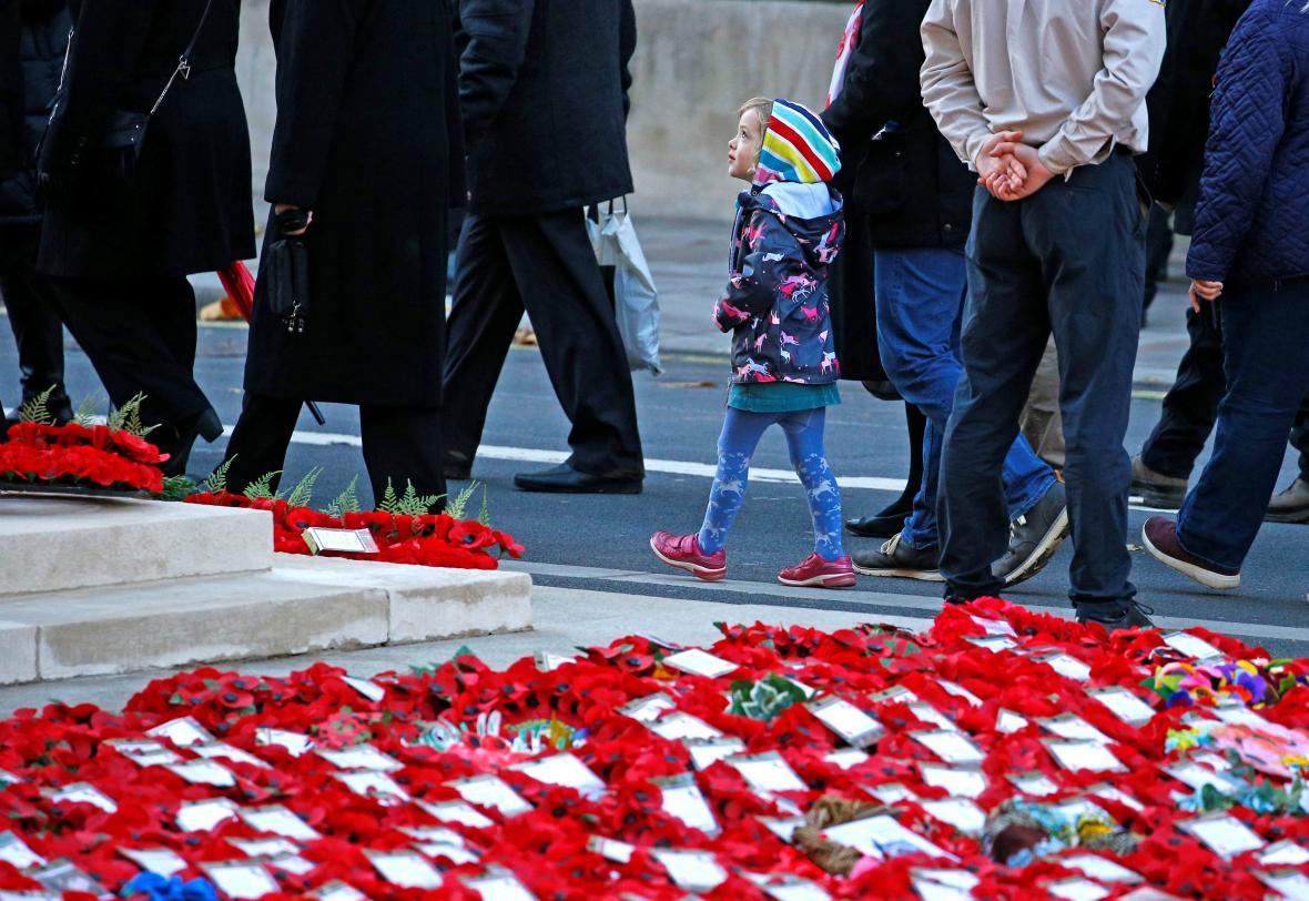 Britské oslavy konce války