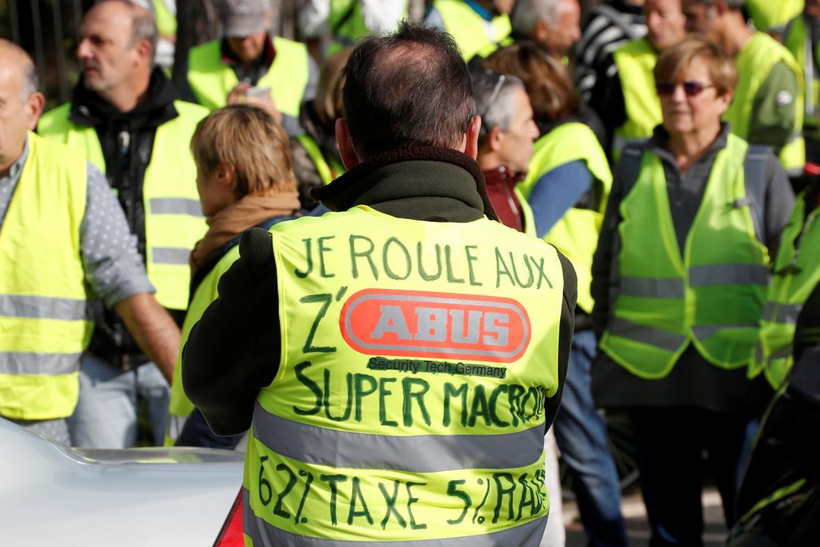Demonstrace v Nice