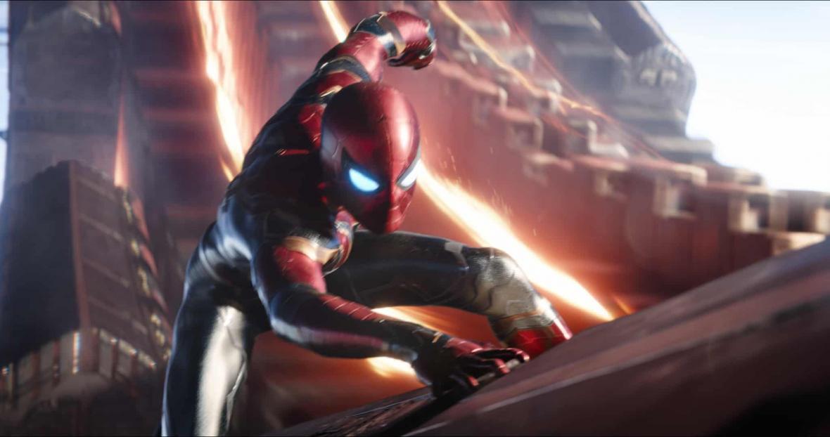 Spider-Man ve filmu Avengers: Infinity War
