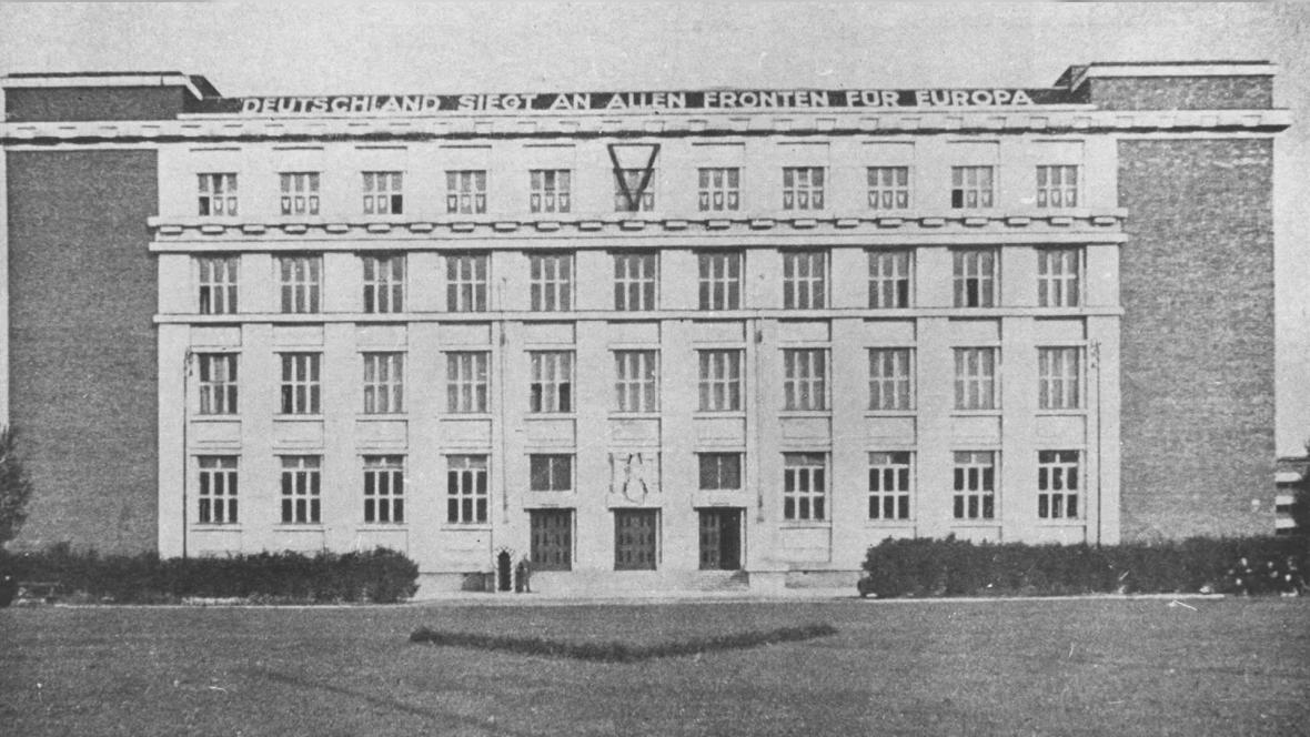 Právnická fakulta za nacistické okupace