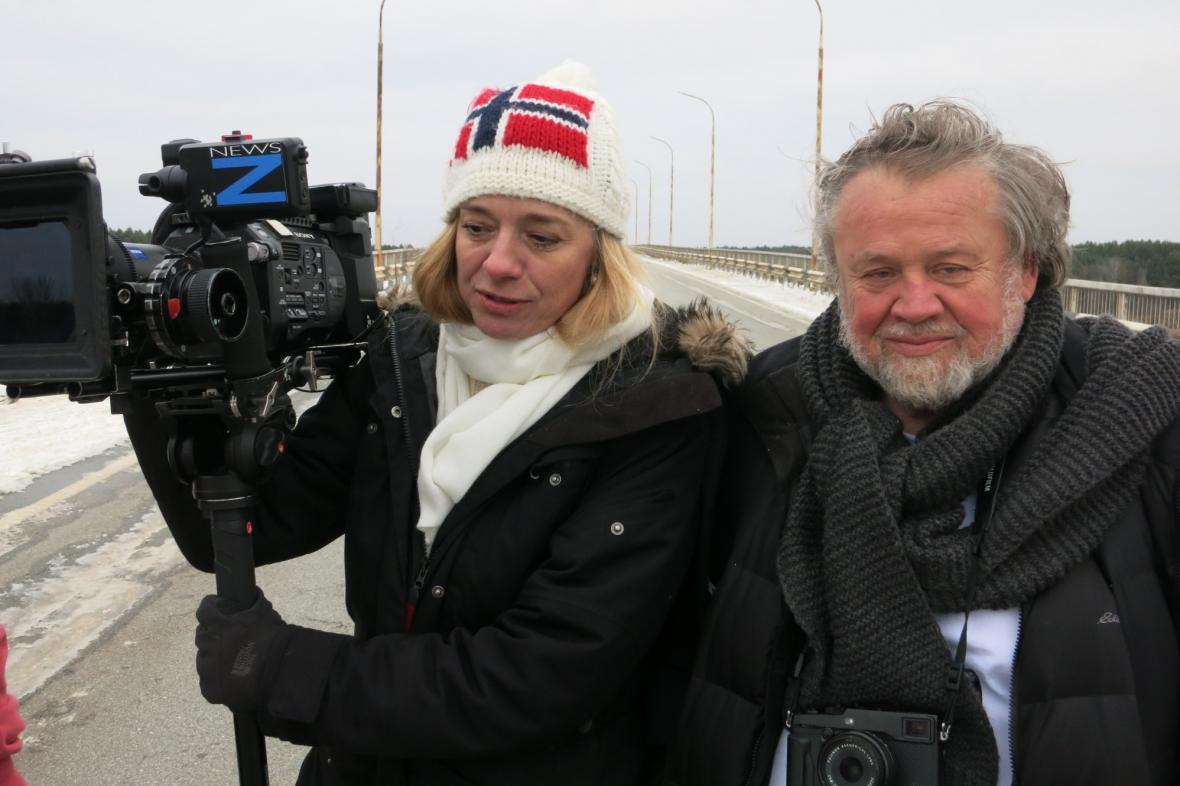 Andrea Sedláčková a Antonín Kratochvíl