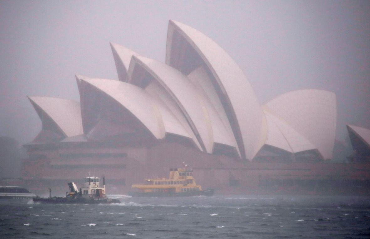 Sydney ochromil vydatný déšť