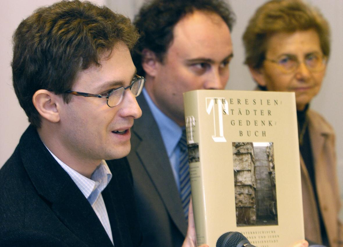 Michal Frankl na snímku z roku 2005