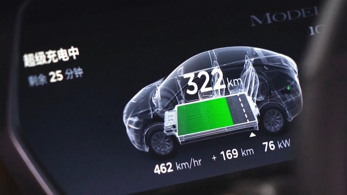 Podrobné sledování elektromobilů v Číně