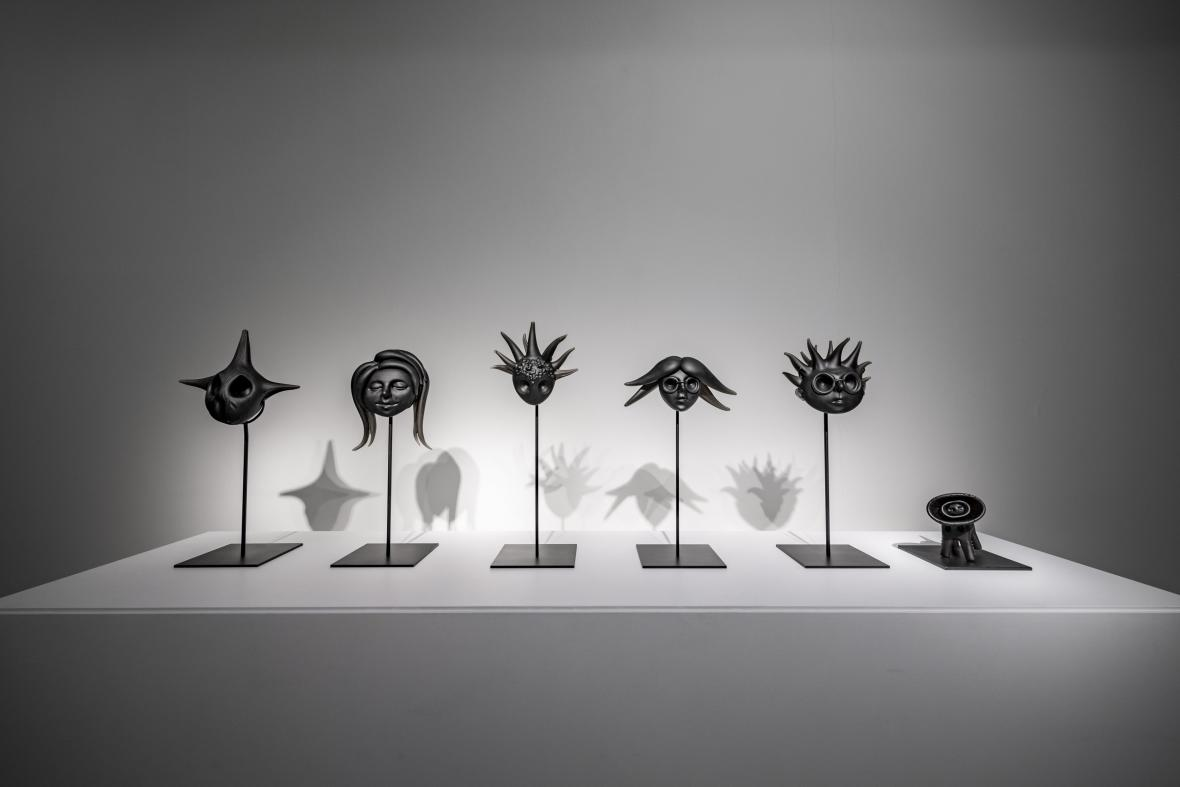 Z výstavy TATA 30JS (Centrum DOX)