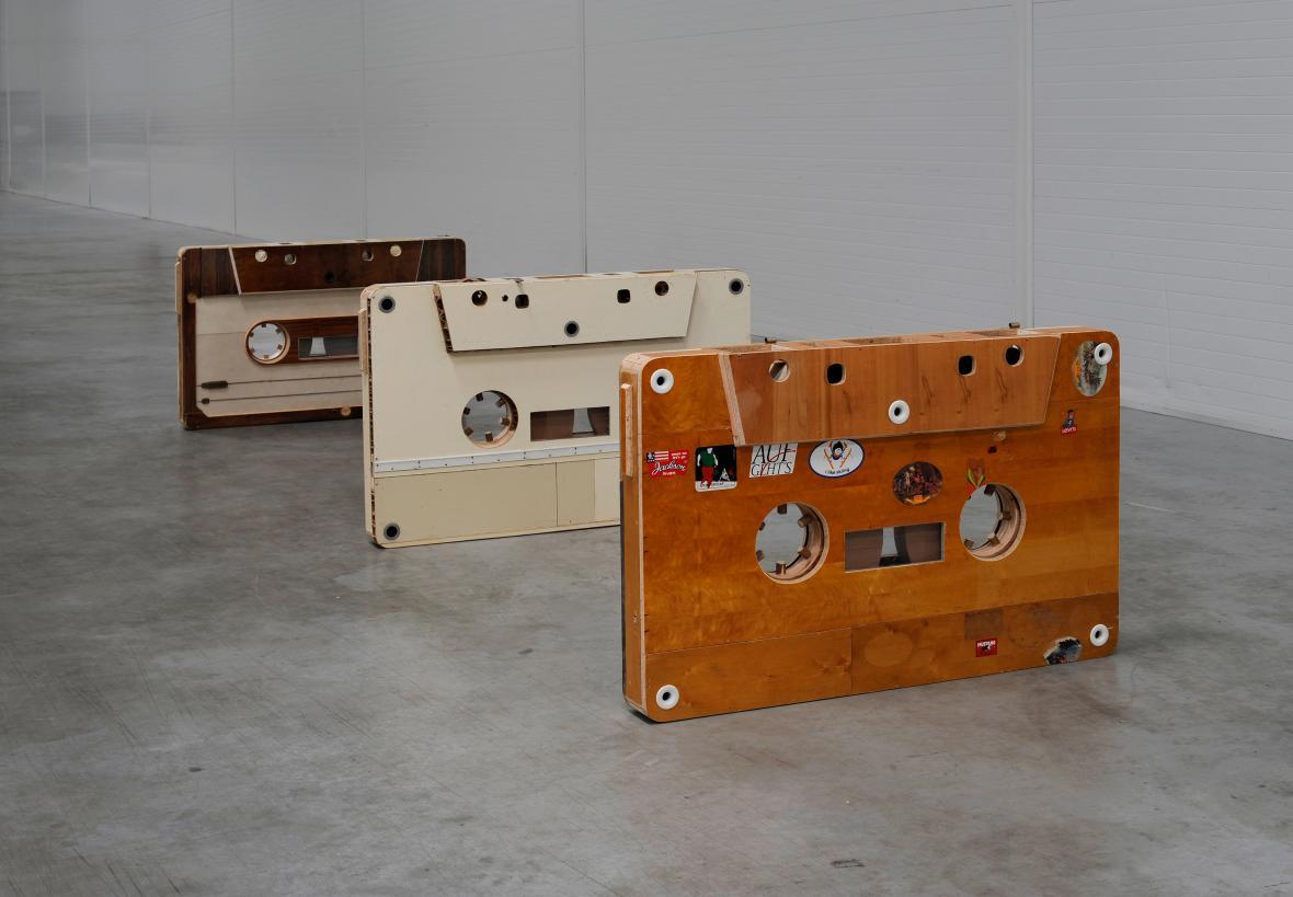 Kazety, 2009–2010, kombinovaná technika