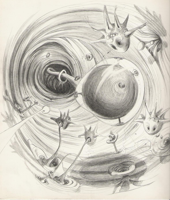 Žíla, ilustrace do knihy Nanobook, 2004