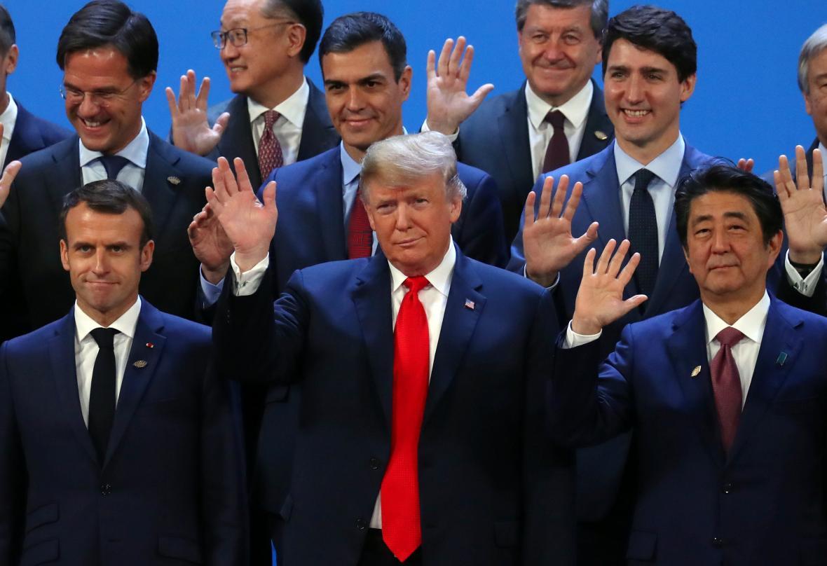 Summit zemí G20 v Buenos Aires