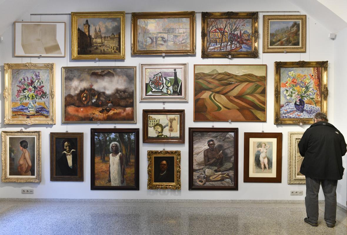 Obrazy, které prodávala Galerie Kodl