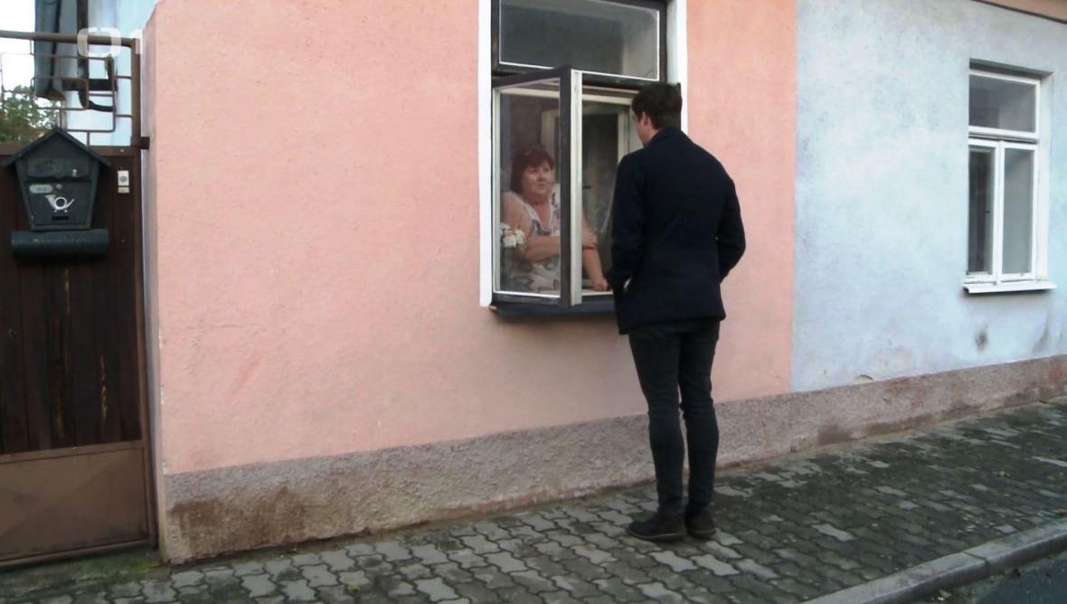 Jednatelka stavební firmy - paní Malá ze Stráže nad Nežárkou
