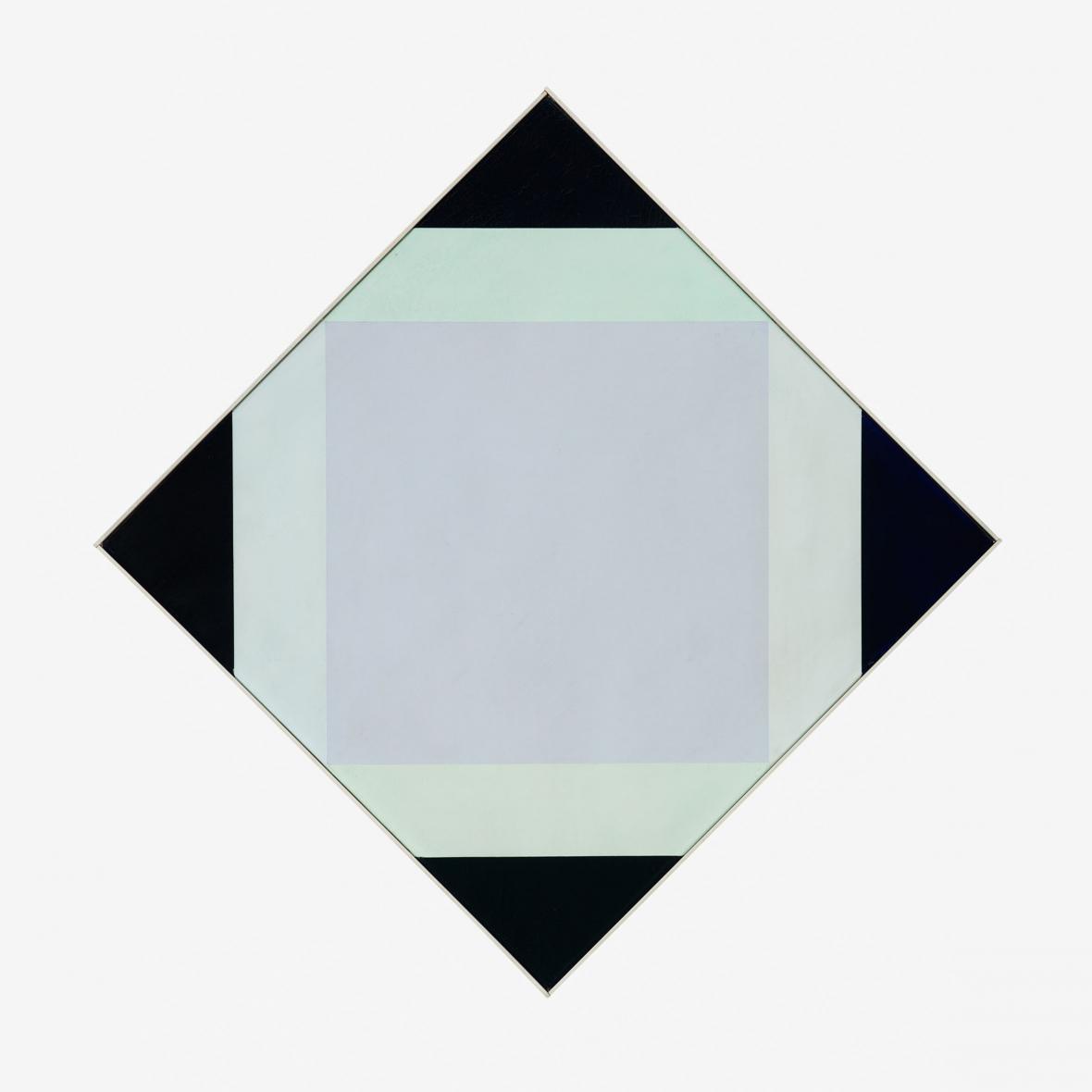 Max Bill / Světlé jádro, 1972/1973