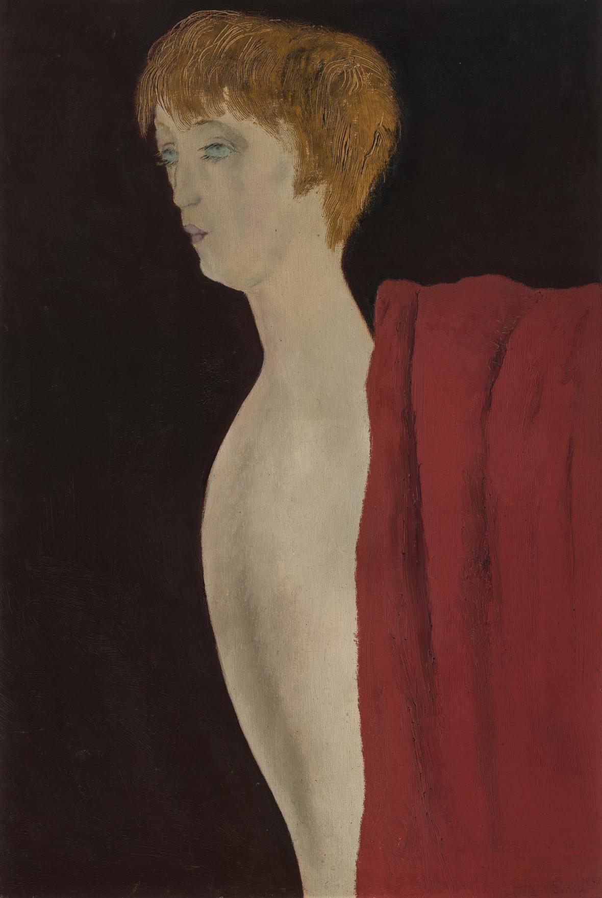 Josef Šíma / Podobizna Berenice Abbottové, 1928