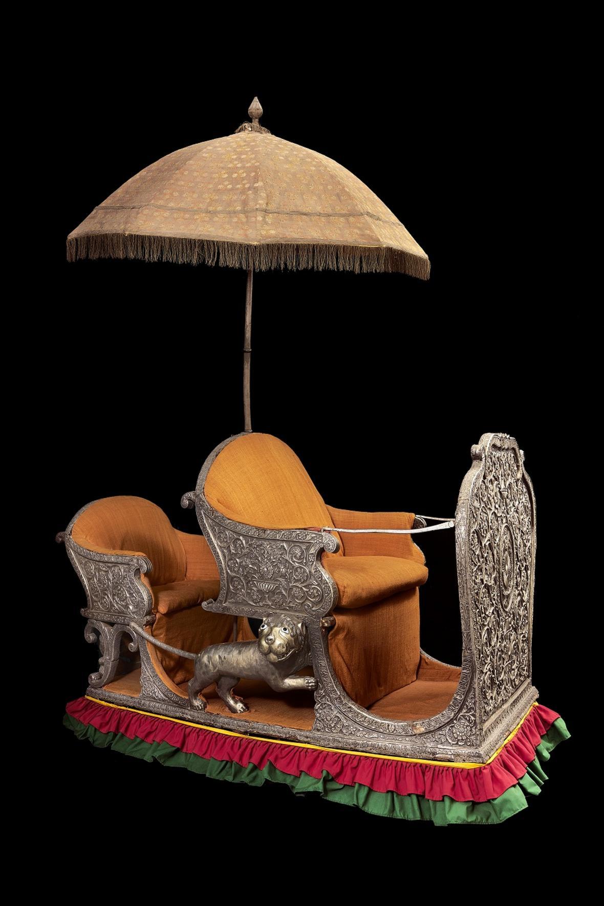 Z výstavy Poklad mahárádži