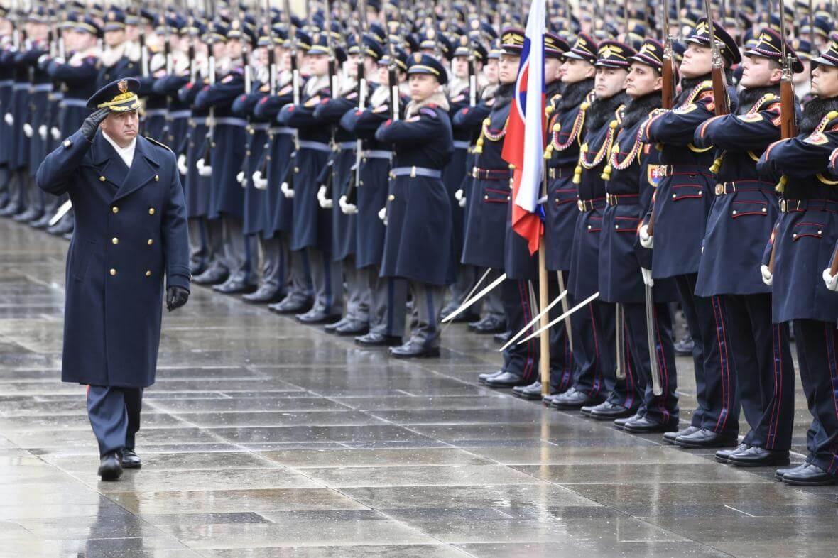 Slavnostní akt ke 100. výročí vzniku Hradní stráže