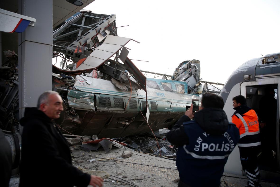 Vlakové neštěstí v Ankaře