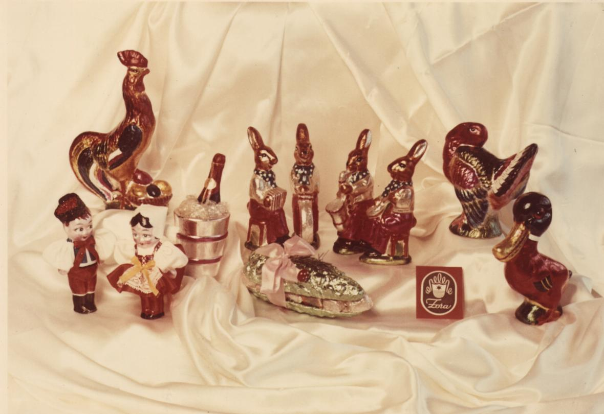 Čokoládové figurky Zora