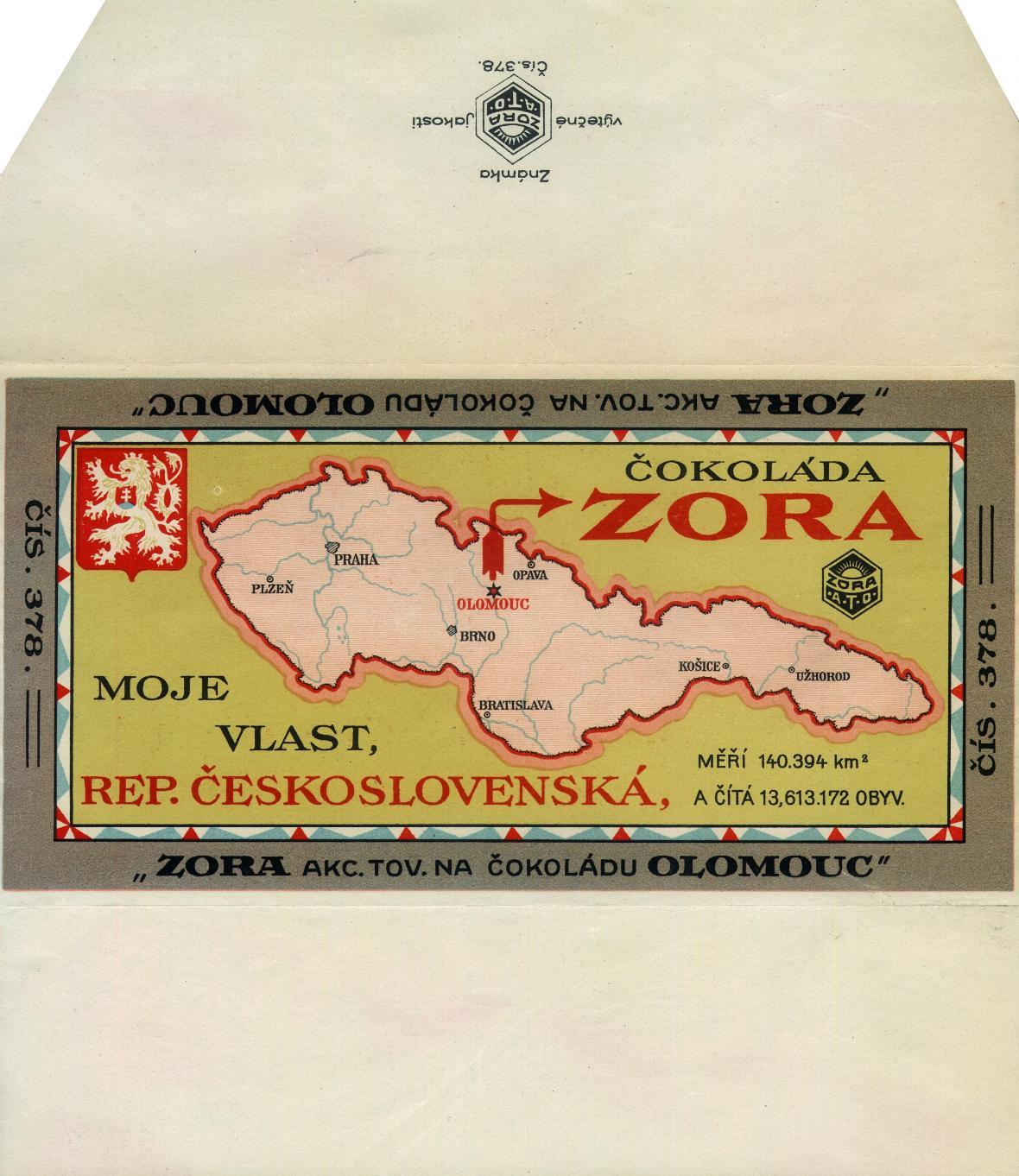 Čokoládovna Zora