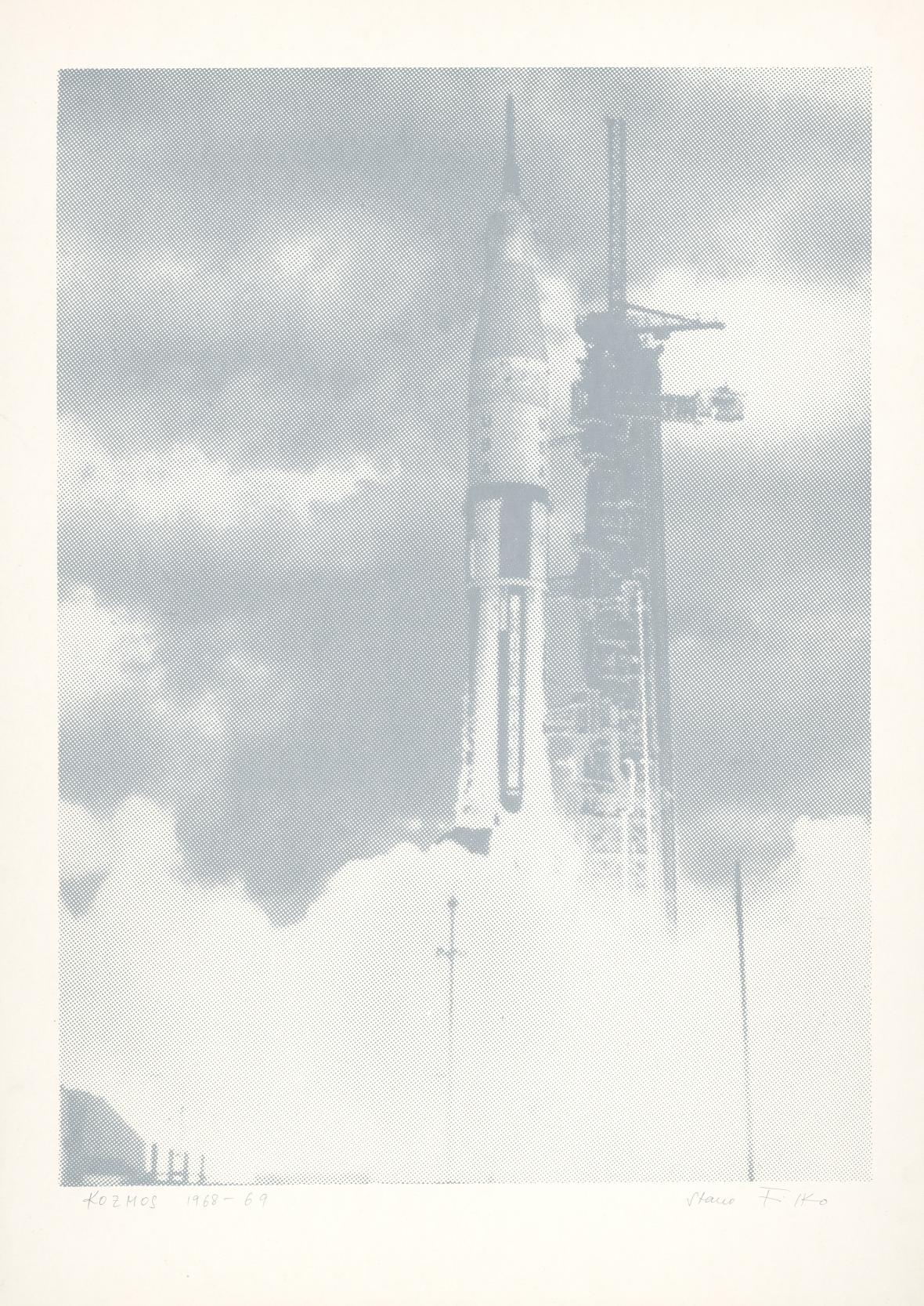 Stano Filko, Kosmos 3, 1968–1969