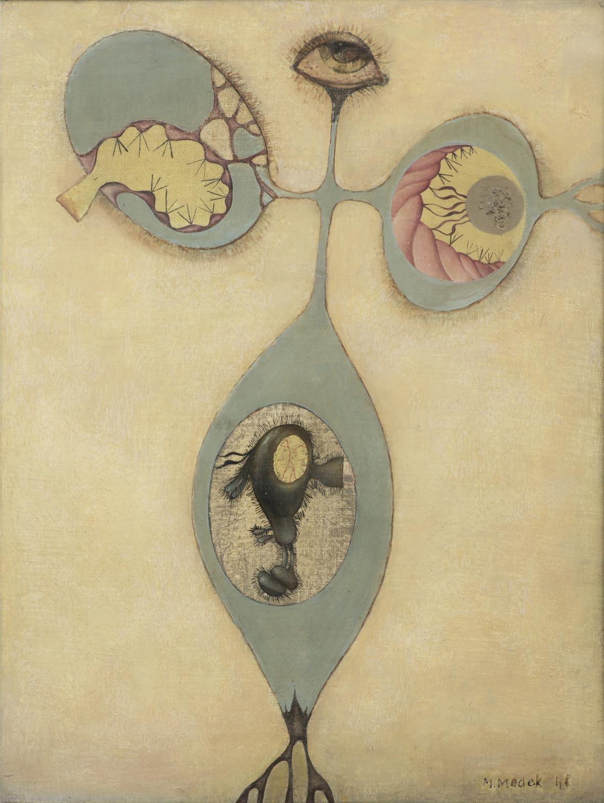 Mikuláš Medek / Anální motýl (1948)